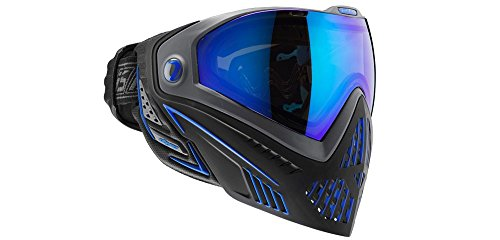 Dye i5 Paintball Maske, Mehrfarbig (Storm Black/Blue), One Size