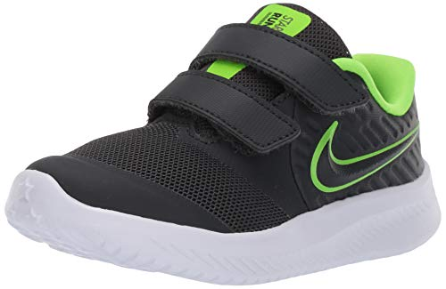 Nike Star Runner 2 (TDV), Zapatillas de Gimnasia Unisex bebé, Negro (Anthracite/Electric Green/White 004), 25 EU