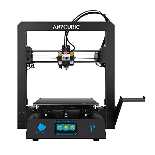 ANYCUBIC Mega Pro 3D Printer, with 3D Printing & Laser Engraving 2 in 1, 210×210×205mm (Print Size)& 220×140mm(Engraving Size), Support 1.75mm PLA Filament