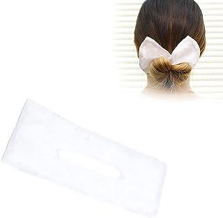 Tixiyu Haarbroodje Maker, Haarbroodjes Haarstuk,Franse Twist Stijl Donut Maken Kapsel Bun Zomer Geknoopt Gedrukt Haarband ...