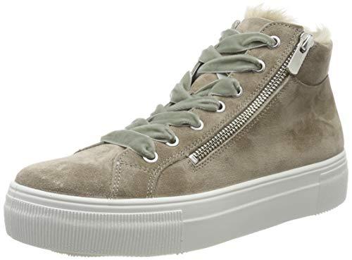 Legero Damen Lima Hohe Sneaker, Beige (Cloud (Beige) 46), 39 EU