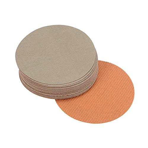Muelas abrasivas de gancho y bucle, 3 pulgadas, carburo de silicio, húmedo/seco, grano 10,000, 20 piezas