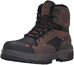 Wolverine Men's Legend 6 Inch Waterproof Comp Toe Work Shoe