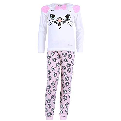 Pijama Blanco y Gris Gatita Marie Disney - 11-12 Años 152