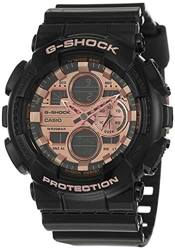 Casio G-Shock Analog-Digital Brown Dial Men's Watch-GA-140GB-1A2DR (G1022)