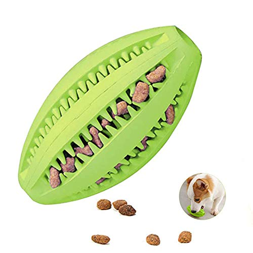 Langdy Hunde-Kauspielzeug, Leckerli-Spender für Hunde Zahnpflege,Kaustangen Hund unzerstörbar, Ungiftiges Naturkautschuk Hundespielzeug für Hunde ür kleine Hunde mittelgroße Hunde große Hunde
