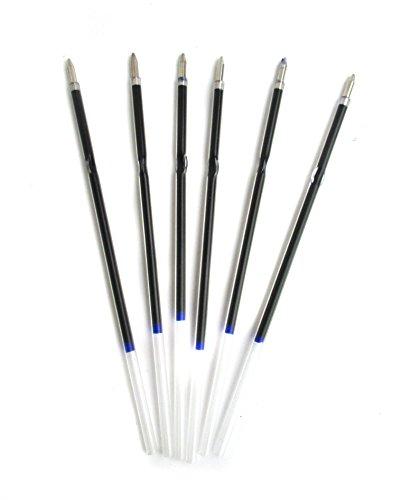 10x Kugelschreibermine / Kuliminen / Ersatzminen / Kuli / Mine / Minen blau
