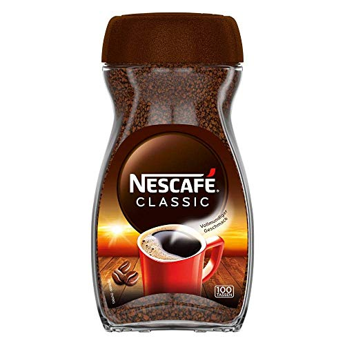 Nescafé Classic löslicher Bohnenkaffee (mitteldunkel geröstet), 200g