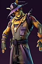 Fortnite - Scary Scarecrow: Sermon Notes Journal for Church Note-Taking