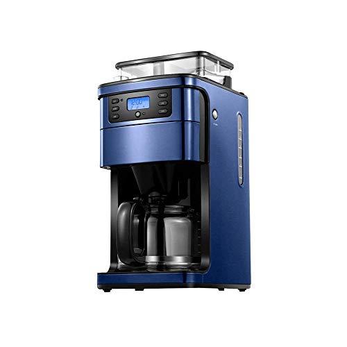 RMXMY Kaffeevollautomat for Gewerbe Home Office frisch gemahlenen Bohnen Schleifen und Kochen Integrierte Kleine amerikanische Drip