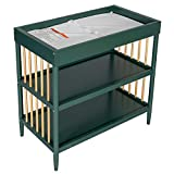 Dream On Me Sleepy Little Sloth, Moon Bear Reaching for The Stars & Clover Changing Table I Rounded Spindles I Mid- Century Meets Modern I Free Changing Pad Included