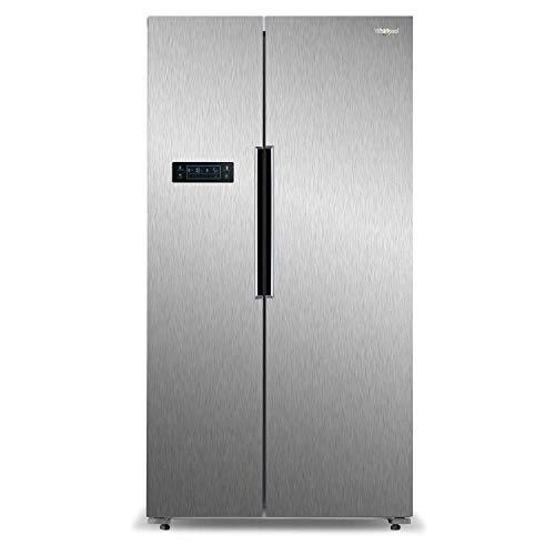 Whirlpool 537 L Inverter Frost-Free Side-by-Side Refrigerator (WS SBS 537, Steel)