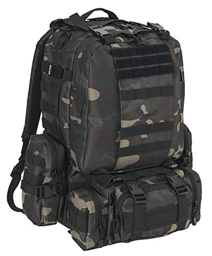 Brandit Backpack US Cooper Modular Pack, Color:darkcamo
