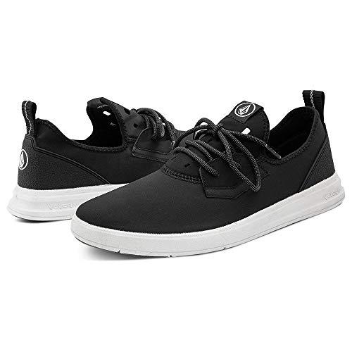 Volcom - Chaussures De Skate Draft Eco Black White Homme - Homme - Taille 39 - Blanc