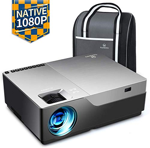 Vankyo Performance V600 Native 1080P Beamer Full HD, 5000 lumen home theater projector met 300