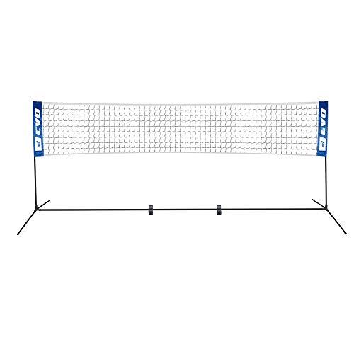 Rete da pallavolo per Giardino Professionale con Pali Alta 228 cm Portatile per Bambini e Adulti