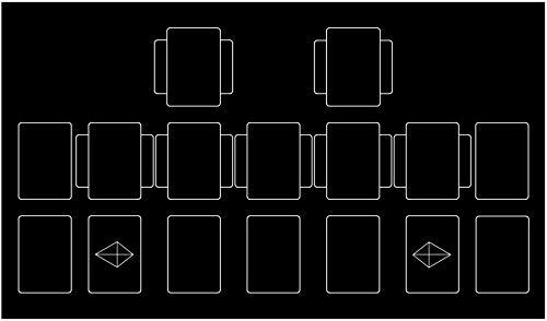テネセシート シンプル ラバー プレイマット 収納ケース 付き (遊戯王)