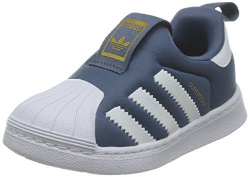 Adidas Superstar 360 I TECINK/FTWWHT/GOLDMT - Zapatillas de deporte para niños del número 21