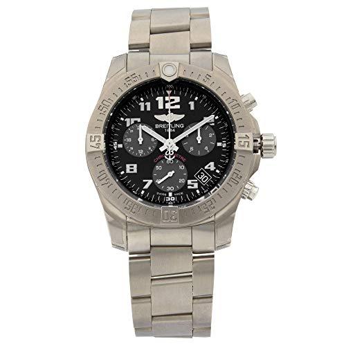 Breitling Chronospace Evo B60 Titanium Black Quartz Watch EB601010/BF49-152E