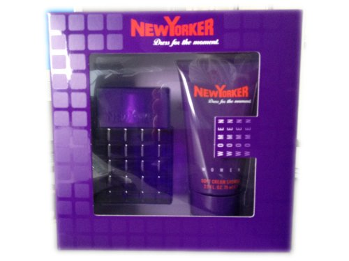 NEW YORKER WOMEN Dress for the moment. Geschenkset - Inhalt: Eau de Toilette Natural Spray Vaporisateur 30 ml + DUSCHGEL 75 ml