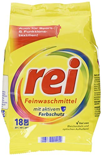 """Rei \""""Fein mit Frischeperlen\"""" Compactpulver 18 Waschladung 900g"""