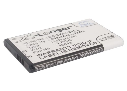 GAXI Battery for Swissvoice L7, SV 20405855 Replacement for Swissvoice Cordless Phone Battery