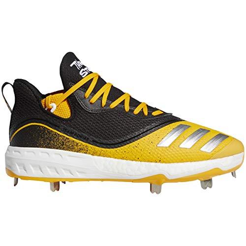 adidas Icon V Cleat - Men's Baseball Core Black/Collegiate Gold