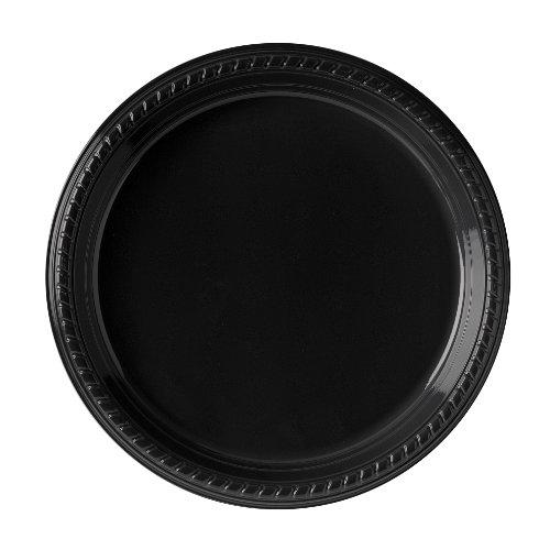 dart 14386 Plastique Deep Well Assiette, Ps15e-0099, perle australienne G, Noir (Lot de 500)
