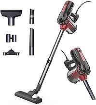 Vacuum Cleaner,Sngg 17KPA Stick Vacuum Corded Powerful Suction Handheld Light Vacuum Cleaner Hardwood Floors -H7s Black