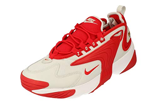 Nike AO0269 - Scarpe da ginnastica da uomo, modello Zoom 2K, colore: rosso