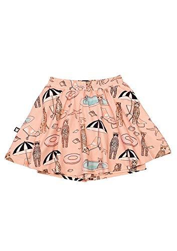 HEBE - rok met broekje - pool print - roze