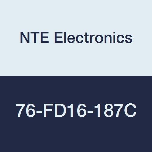 San Francisco Mall NTE Electronics 76-FD16-187C Brass Latest item Terminal Female Non-Insulated
