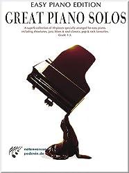 Great Piano Solos - Édition Easy Piano - Partitions de musique