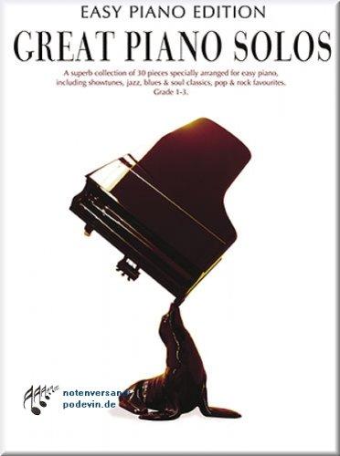 Great Piano Solos - Edition Easy Piano - Partitions de piano [Notes de musique]