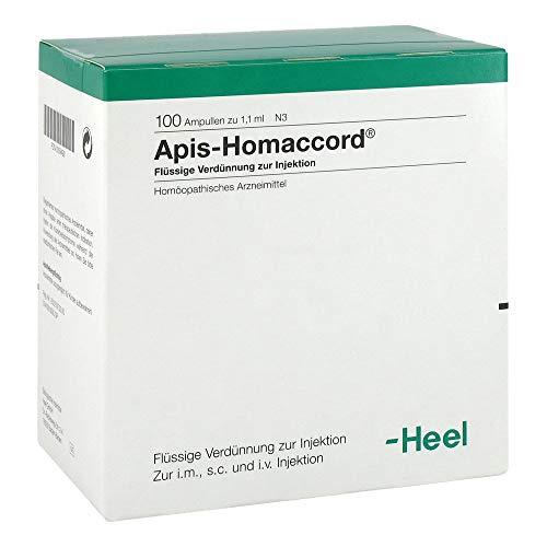 APIS HOMACCORD Ampullen 100 St
