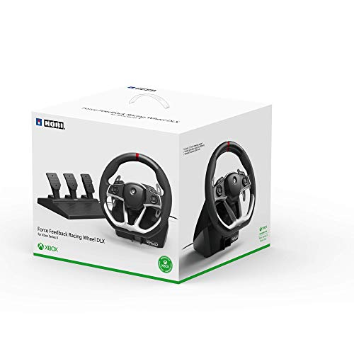HORI Force Feedback Racing Wheel DLX Designed for Xbox Series X S - Officially Licensed by Microsoft