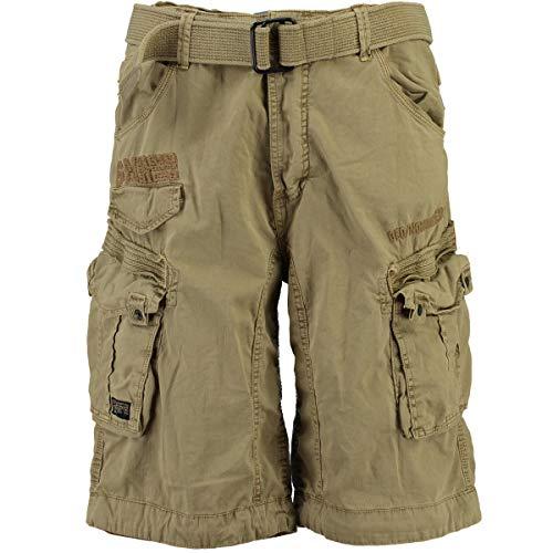2O3 Geographical Norway People Herren Bermuda Shorts Kurze Hose Beige L
