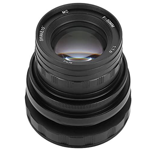 Obiettivo Manuale Tilt Shift, Obiettivo con Apertura F1.6 Obiettivo Full Frame Manuale per Fotocamera mirrorless Sony A9 A7 Series E Mount