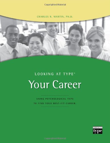 looking at type and careers - 1