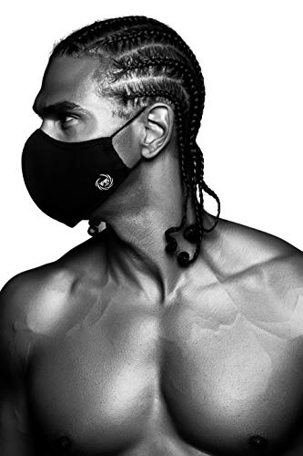 The Black Mask Company Reusable Face Mask - Washable Cotton Face Cover