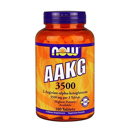 Now Foods AAKG 3500 Standard, 180 capsules