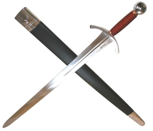 15th Century The Archers Sword Full Tang Tempered Battle Ready Hand Forged Sharp Edge Blade