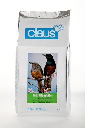 Claus Fett-Alleinfutter Typ II grün Inhalt 1 kg