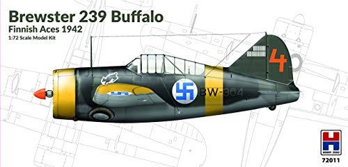 ホビー2000 1/72 フィンランド空軍 ブルースター 239 バッファロー フィンランドエースパイロット プラモデ...