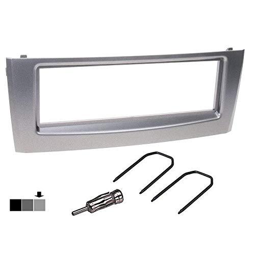 Sound-way 2 DIN Radiopaneel Frame Autoradio, Antenne Adapter, Demontage Sleutels, ondersteuning voor Fiat Grande Punto