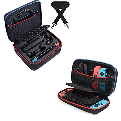 Kootek Carrying Case for Nintendo Switch Hard Shell Carry Cases for Nintendo Switch Console & Accessories