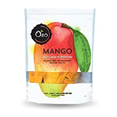 PREMIUM DRIED MANGO SLICES - Hand-picked to ensure the highest quality, our dried mangoes are made with face slices only, no thin strips NO ADDED SUGAR, NO PRESERVATIVES - No sugar added means more mango per bag! We don't saturate our product in suga...