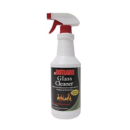 Rutland Products Rutland Fireplace Glass and Hearth Cleaner, 32 fl oz, White