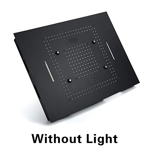Check Out This Music LED Shower Head, 60x80cm Black Remote or Phone Control LED Light, Bathroom Wate...