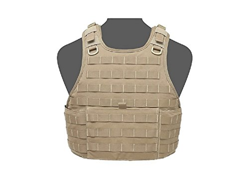 Warrior RICAS Compact Base Plate Carrier Coyote